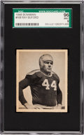 Football Cards:Singles (Pre-1950), 1948 Bowman Buford Ray #108 SGC 96 Mint 9 - Pop One, Single HighestSGC Example! ...