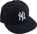 Baseball Collectibles:Others, 2011 Mariano Rivera ALDS Game Five Worn Yankees Cap....