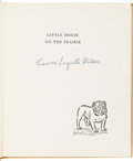 Autographs:Authors, Laura Ingalls Wilder Signed Copy of Little House on the Prairie....