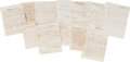 Autographs:Military Figures, [Orlando H. Ross]. William T. Sherman Autograph Letter Signed and Archive....