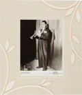 Autographs:Celebrities, Louis Armstrong Signed Photograph....