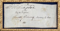 Autographs:U.S. Presidents, George Washington Signature as President...