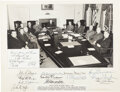Autographs:U.S. Presidents, Harry S. Truman and Cabinet Inscribed Photograph Signed....