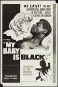 """Movie Posters:Exploitation, My Baby is Black (American Film Distributing, 1965). One Sheet (27""""X 41""""). Exploitation.. ..."""