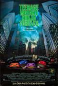 "Movie Posters:Action, Teenage Mutant Ninja Turtles (New Line, 1990). One Sheet (27"" X40""). Action.. ..."