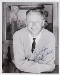 "Autographs:Artists, Charles M. Schultz Photograph Signed ""Best Wishes / Charles M.Schultz.""..."