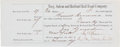"""Autographs:Celebrities, Jay Gould Document Signed """"by Jay Gould his Atty.""""..."""
