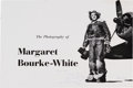 Autographs:Artists, Margaret Bourke-White Inscribed Program From an Exhibition of HerWork Held at the George Eastman House....