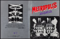 "Movie Posters:Science Fiction, Metropolis (PSO, R-1985). Japanese Program (Multiple Pages, 8.25"" X 11""). Science Fiction.. ..."