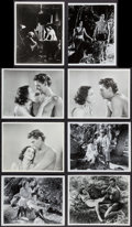 "Movie Posters:Adventure, Tarzan - Johnny Weissmuller Lot (MGM). Reprint Portrait and ScenePhotos (42) (8"" X 10""). Adventure.. ... (Total: 42 Items)"