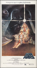 "Movie Posters:Science Fiction, Star Wars (20th Century Fox, 1977). Three Sheet (41"" X 76"").Science Fiction.. ..."