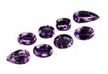 Gems:Faceted, GEMSTONE PARCEL: LARGE AMETHYST - 211.39 TCW. Brazil. ... (Total: 8 Items)