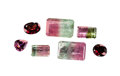 Gems:Faceted, GEMSTONE PARCEL: TOURMALINES & GARNETS - 42.80 TCW.Brazil. ... (Total: 7 Items)