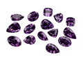 Gems:Faceted, GEMSTONE PARCEL: AMETHYST - 150.30 TCW. Brazil. ... (Total:16 Items)