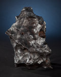 Meteorites:Irons, A CLASSIC EXAMPLE OF THE QUINTESSENTIAL AMERICAN METEORITE. Iron coarse octahedrite - IAB-MG. Meteor Crater, Coconino ...