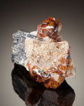Minerals:Miniature, CHONDRODITE. Tilly Foster Iron Mine, Brewster, Southeast Township, Putnam Co., New York, USA. ...