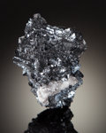 Minerals:Small Cabinet, HAUSMANNITE. Wessels Mine, Hotazel, Northern Cape Province, South Africa. ...