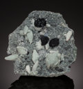 Minerals:Cabinet Specimens, HEMATITE. Dahisar Quarry, Mumbai District (Bombay District),Maharashtra, India. ...