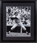 Baseball Collectibles:Photos, Mickey Mantle Signed Oversized Photograph....
