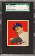Baseball Cards:Singles (1940-1949), 1949 Bowman Carl Furillo #70 SGC 96 Mint 9 - Pop One, The Best SGCExample! ...