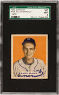 Baseball Cards:Singles (1940-1949), 1949 Bowman Ralph Branca #194 SGC 96 Mint 9 - Pop One, Finest SGCExample! ...