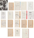Autographs:Others, 1980's-2000's Stan Musial & Other Authors Signed Books Lot of21....