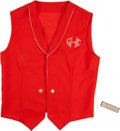 Baseball Collectibles:Others, Stan Musial Harmonica & Harmonica Club Vest....