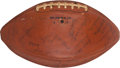Football Collectibles:Balls, 1960 Houston Oilers Game Used, Team Signed Football From Second Game In Team History - AFL Championship Season!...