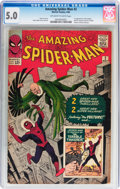 Silver Age (1956-1969):Superhero, The Amazing Spider-Man #2 (Marvel, 1963) CGC VG/FN 5.0 Off-white to white pages....