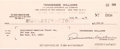 Autographs:Authors, Tennessee Williams Signed Check. ...