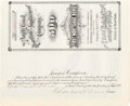 Autographs, Charles H. Dow Signed Bond. ...