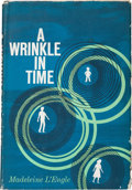 Books:Children's Books, Madeleine L'Engle. A Wrinkle in Time. [New York]: ArielBooks / Farrar, Straus and Cudahy, [1962]. First edition...