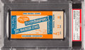 Football Collectibles:Tickets, 1940 NFL Pro Bowl Ticket Stub PSA Authentic - Packers Vs. All Stars....