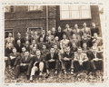 Football Collectibles:Photos, 1939 Nile Kinnick Original Phi Kapp Psi Fraternity Photograph....