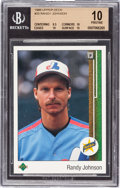 Baseball Cards:Singles (1970-Now), 1989 Upper Deck Randy Johnson Star Rookie #25 Beckett Pristine 10. ...