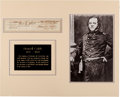 Autographs:Military Figures, Howell Cobb Partial Document Signed ...