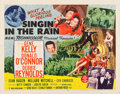 "Movie Posters:Musical, Singin' in the Rain (MGM, 1952). Half Sheet (22"" X 28"") Style B....."
