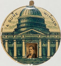 Political:Pinback Buttons (1896-present), William McKinley and William Jennings Bryan: A Sure Winner Mechanical....