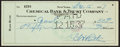Baseball Collectibles:Others, 1937 Babe Ruth Signed Check....
