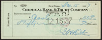 1937 Babe Ruth Signed Check