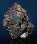 Minerals:Cabinet Specimens, LARGE MAGNETITE CRYSTALS. Madawaska Mine, Faraday Township,Bancroft District, Hastings Co., Ontario, Canada. ...