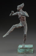 Sculpture, ROBERT GRAHAM (American, 1938-2008). Small Dancing Nude, 1997. Bronze. 6 x 3-1/2 inches (15.2 x 8.9 cm). Signed, dated a...