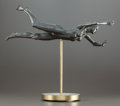 Post-War & Contemporary:Sculpture, ROBERT GRAHAM (American, 1938-2008). Young Girl Swimming.Bronze. 8 x 21-1/2 x 7 inches (20.3 x 54.6 x 17.8 cm). Ed. 15/...