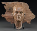 Post-War & Contemporary:Contemporary, ROBERT GRAHAM (American, 1938-2008). Brooke Shields, 2002.Bronze with light brown patina. 10-1/2 x 13 x 4 inches (26.7 ...