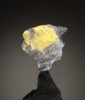 Minerals:Miniature, TUNGSTITE. Farallon Mine (Farellon mine), Cerro Tazna,Atocha-Quechisla District, North Chichas Province, PotosíDepartmen...