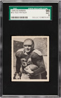 Football Cards:Singles (Pre-1950), 1948 Bowman Ted Fritsch #72 SGC 96 Mint 9 - Pop One, Single HighestSGC Example! ...