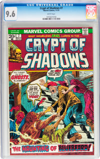 Crypt of Shadows #7 (Marvel, 1973) CGC NM+ 9.6 White pages