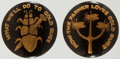 Political:Pinback Buttons (1896-present), William Jennings Bryan: Pair of Anti-Gold Bug Studs....