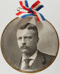 Political:Pinback Buttons (1896-present), Theodore Roosevelt: Large Picture Button....