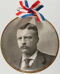 Theodore Roosevelt: Large Picture Button